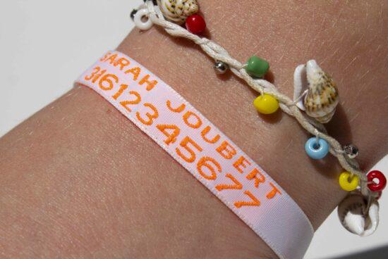 sos bracelet pour enfants